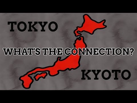Why Do Tokyo & Kyoto Have Such Similar Names?