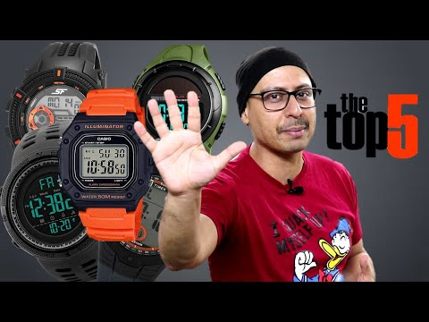 Top 5 Sports Watches Under 1000 (Hindi) 🔥