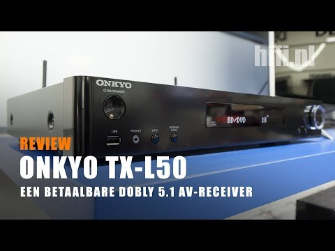 Review: Onkyo TX L50 AV Receiver