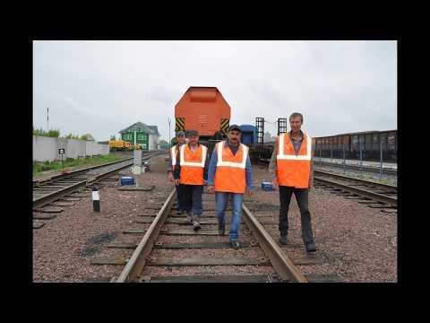 Восстановительный поезд станции Ужур