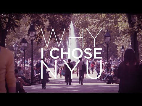 Why I Chose NYU