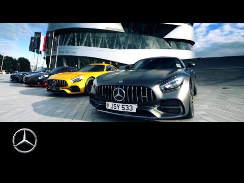 Mercedes-AMG Road Trip: From London to Affalterbach | #MBFanFilm