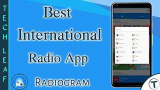 Best International Radio App   Best Internet Radio App   Radiogram