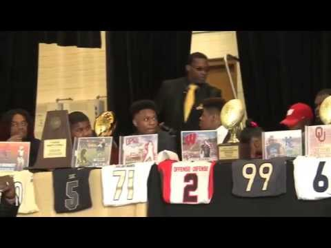 South Oak Cliff High School National Signing Day 2014-2015