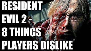 8 Things Players Dislike About Resident Evil 2