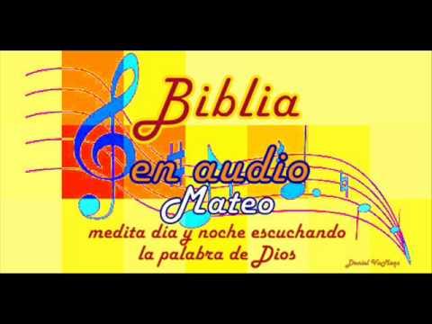 MATEO CAPITULO 6, biblia hablada