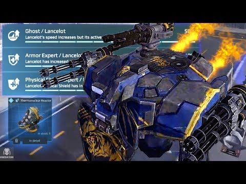 Transforming The Lancelot Into A Monster - Insane Pilot Skills - Smashing Through Robots | WR