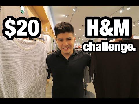 $20 H&M CHALLENGE