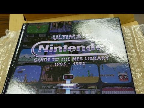 UNBOXING of NINTENDO BOOK by Classic Game Room