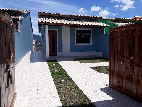 Linda casa com 2 quartos, em Maricá, Cordeirinho!