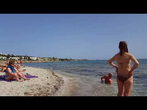 Крит. Херсониссос. Пляж