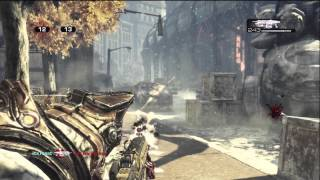 Gears of War 3 Online Ranked TDM Caseslide Gameplay Hauppauge HD PVR Test on 720p