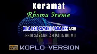 Download Karaoke Keramat - Koplo Version (Tanpa Vokal)