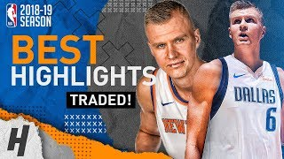 BREAKING NEWS: Kristaps Porzingis Traded to the Mavericks! BEST Highlights for the Knicks 2015-18!