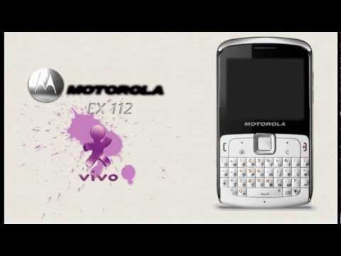 Motorola ex 112 configurações vivo internet