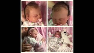 Silicone Vinyl Reborn Baby Revealed