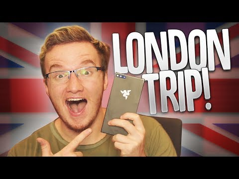 THE BRAND NEW RAZER PHONE! - My London Day Trip Vlog