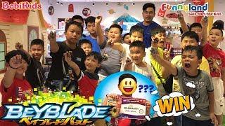 Beyblade #8 ❤️ Cuộc Chiến Tìm Quán Quân Của Các Blader Tại Funny Land ❤️ Vòng Xoay Thần Tốc