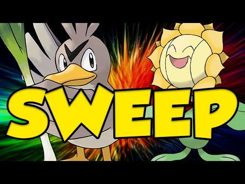 FARFETCH'D & SUNFLORA SWEEP! 18 STAT BOOSTS IN 2 TURNS!