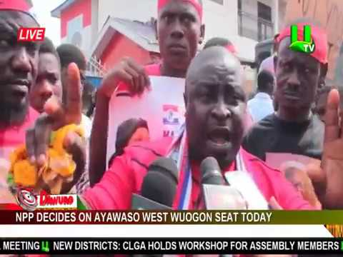 NPP decides on Ayawaso West Wuogon seat today