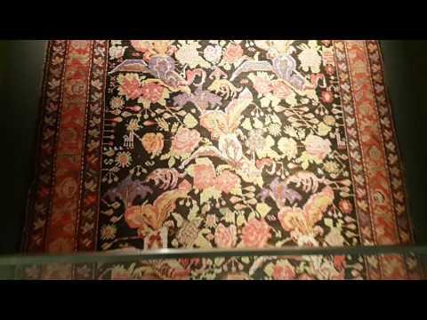 Самый красивый музей - Древние азербайджанские ковры.