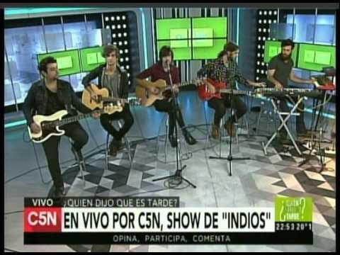 C5N - MUSICA EN VIVO: PRESENTACION DE INDIOS (PARTE 2)