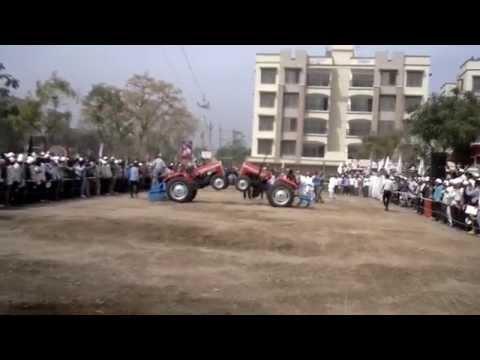 Tractor Dance By TAFE Team in Mahesana,Gujarat