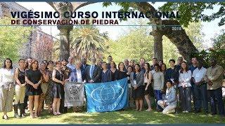 Inauguración Curso Internacional de Conservación de Piedra thumbnail