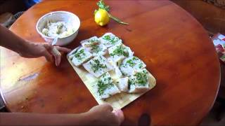 Жареная рыба в картофельной шубе