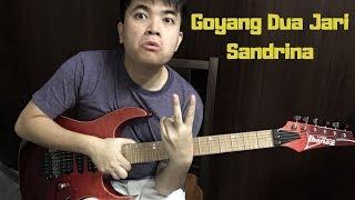Goyang Dua Jari - Sandrina (Electric Guitar cover) Two Fingers Challenge!