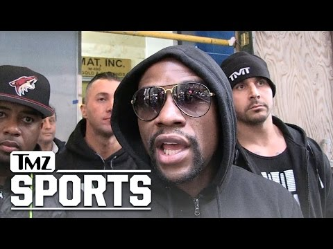 Floyd Mayweather Says 'Don't Compare Conor McGregor to Me'... 'Total Disrespect' | TMZ Sports