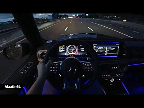 THE MERCEDES AMG G63 G WAGON TEST DRIVE