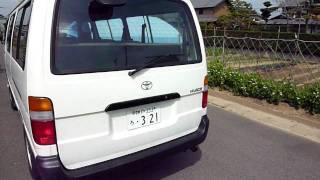 2002 Toyota HiAce Wagon 10-Seater