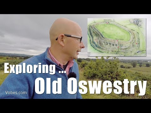 Walks In Shropshire: Old Oswestry Video