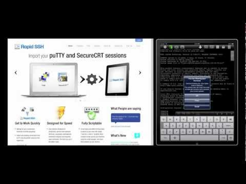 Rapid SSH Ios SSH Client For IPad And IPhone