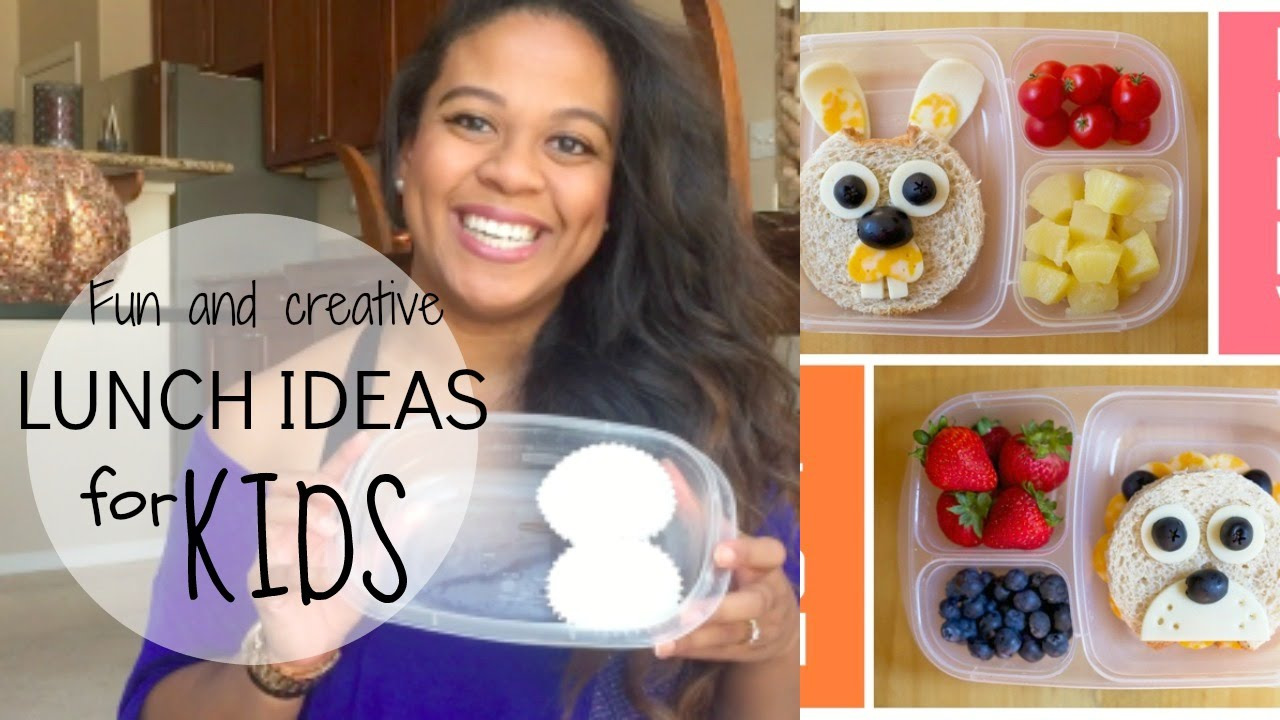 DIY Fun + Creative Lunch Ideas For Toddlers And Kids