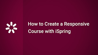 Het Maken van een Responsive E-Learning Cursus