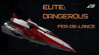 Elite:Dangerous - Обзор кораблей -  Fer-de-Lance