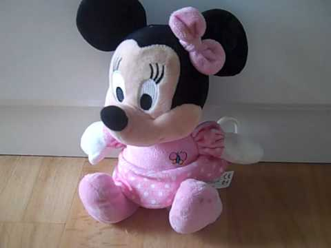 Disney Minnie Mouse Plush Musical Pull For Baby Youtube