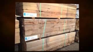 Pecky Cedar Landscape Timbers - Rusticlumberco
