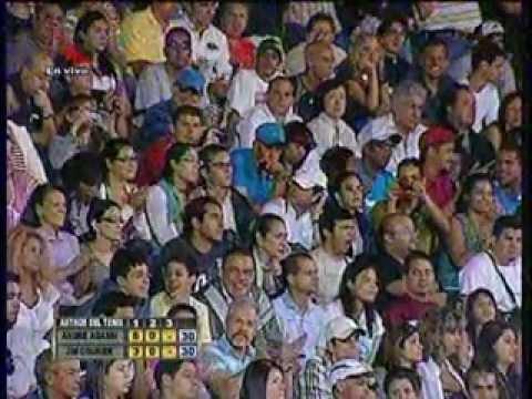 Astros del Tenis en Caracas - Andre Agassi vs. Jim Courier Segundo set