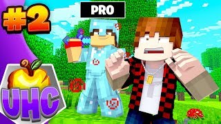 Minecraft UHC: ESCAPE THE PRO! (Cube UHC 20)