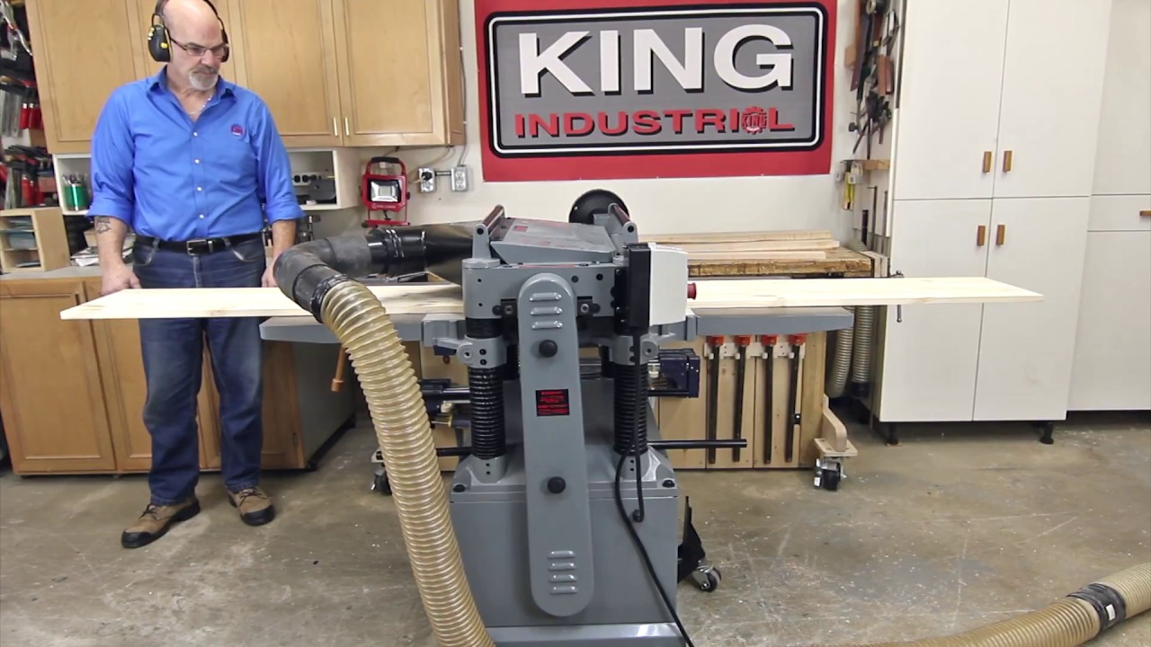 King Industrial Thickness Planers Thetoolstore Ca