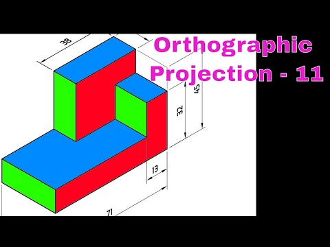 Orthographic projections Question 1