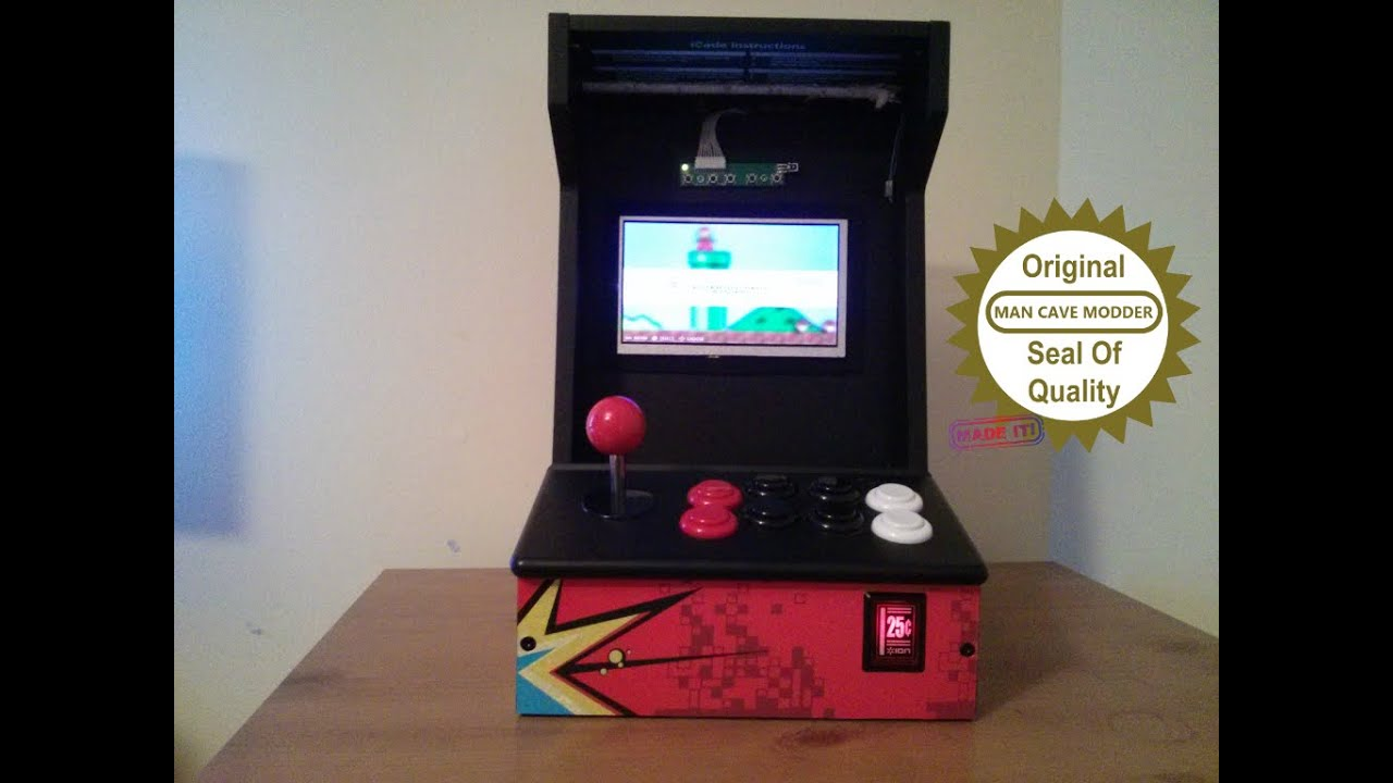 Build A Cheap Arcade Cabinet With A Raspberry Pi 2 And RetroPie   YouTube