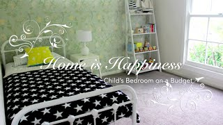 How To Style Your Child's Bedroom On A Budget | Home Is Happiness