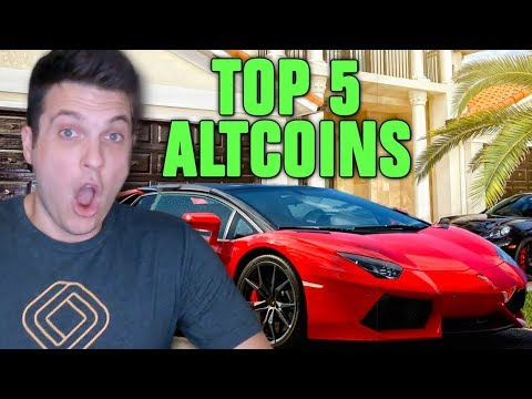 TOP 5 ALTCOINS THAT WILL MAKE YOU RICH IN 2018!