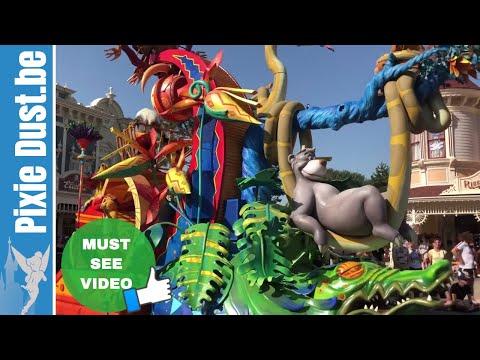 🎭 Heatwave Version Of Disney Stars On Parade Ft. Merida 27 June 2019