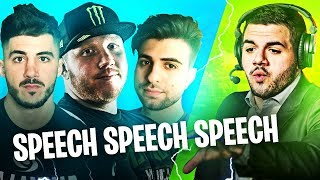 COURAGE SPEECH = 100% WIN! W/ NICKMERCS, COURAGE & SYPHERPK | Fortnite Battle Royale Highlights #239
