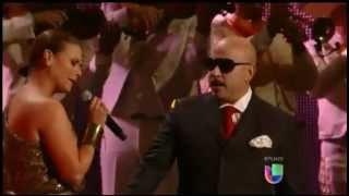 Olga Tañon canta junto a Lupillo Rivera -Yo te extrañaré-